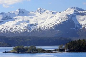 Ørnes, Polarkreis, Norwegen