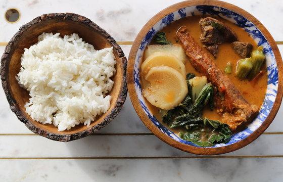 Stew & Rice