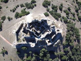 Castillo de Puebla de Almenara en Cuenca ( Castilla la Mancha, España)