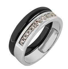 Jewelry ring isolated