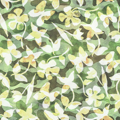 Fashion abstract camouflage background
