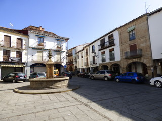 Hervas. Pueblo de Caceres en Extremadura, (España)
