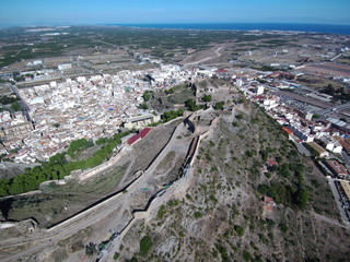Sagunto. Ciudad historica de la Comunidad Valenciana, España