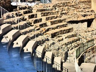 Teatro romano de Sagunto del año 50 d. C. en Comunidad Valenciana, España