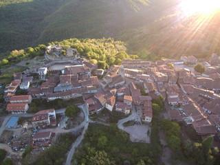 San Martín del Castañar. Pueblo de Salamanca, en la comunidad autónoma de Castilla y León (España)