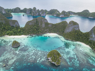 Limestone Islands in Wayag, Raja Ampat