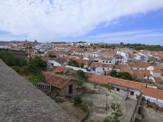Valencia de Alcántara. Pueblo de Cáceres, comunidad autónoma de Extremadura (España)