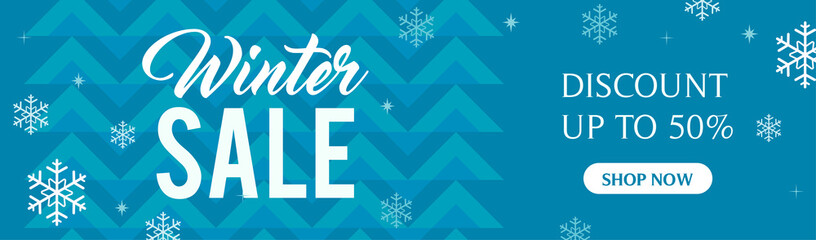 Winter Sale Banners Woodland Banners