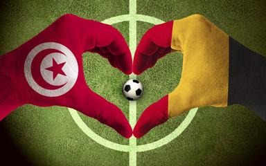 Belgium vs Tunesia