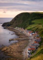 Crovie coastal village, Aberdeenshire, Scotland, United Kingdom, Europe