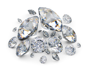 placer of diamonds