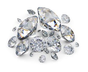 placer of diamonds