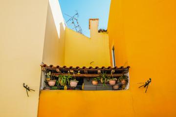 Balkon im Alfama, Lissabon