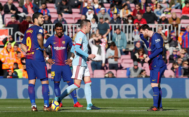 La Liga Santander - FC Barcelona vs Celta Vigo