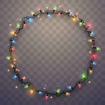 Light garland ring