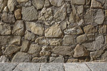 stone wall background or texture