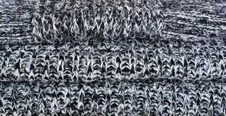 Woolen fabric texture background