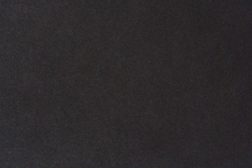 Black paper texture background. Black blank cotton paper page