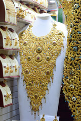 Arabian Traditional Gold jewelry