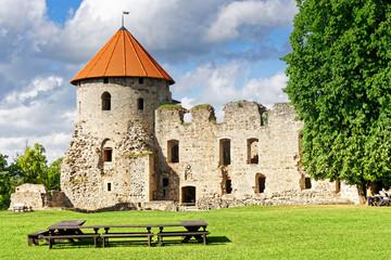 Ordensburg in Cesis, Lettland