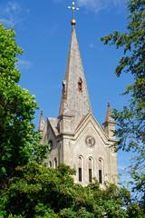 Kirchturm des Heiligen Johannes in Cesis, Lettland