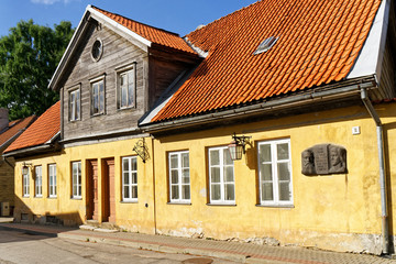 Wohnhaus von Andrejs Pumpurs in Cesis, Lettland