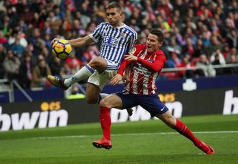 La Liga Santander - Atletico Madrid vs Real Sociedad