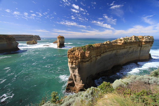 Views of Great Ocean Road, Australia