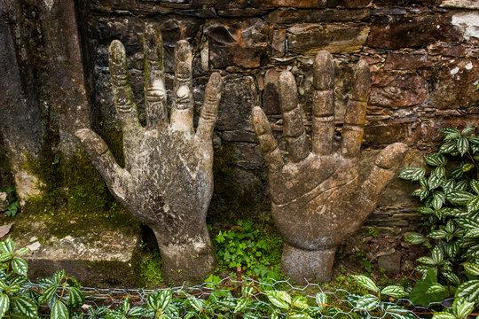 Xilitla ruins in Mexico