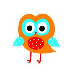 cute little owl vector