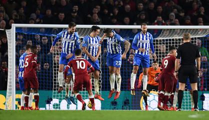 Premier League - Brighton & Hove Albion vs Liverpool