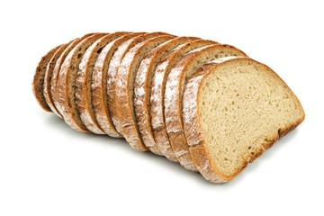 Brot geschnitten