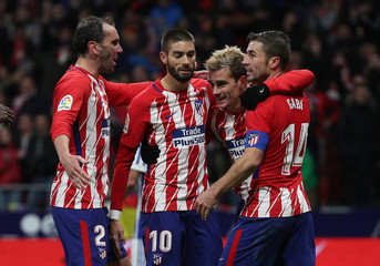 La Liga Santander - Atletico Madrid vs Real Sociedad