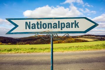 Schild 251 - Nationalpark
