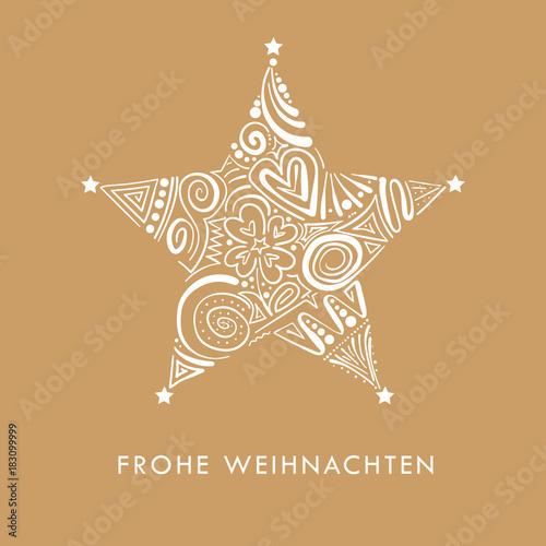 Stern Frohe Weihnachten.Stern Frohe Weihnachten Stockfotos Und Lizenzfreie