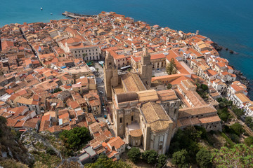 View over Cefalu