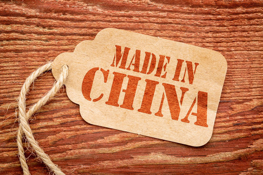 made in China -  price tag