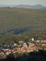 Mogarraz. Pueblo bonito de Salamanca (Castilla y Leon, España)