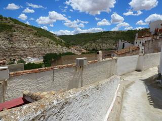 Alcala del Jucar. Pueblo de Albacete, en comunidad autónoma de Castilla La Mancha (España)
