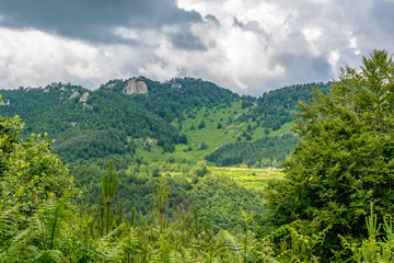 Amazing landscape in Rhodope Mountains, Bulgaria