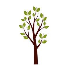 Spring Tree. Vector Illustration.