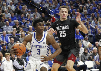 NCAA Basketball: Harvard at Kentucky