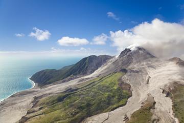 Soufriere Hills Volcano, Montserrat Fototapete