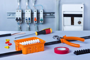 Electrical tools, component and cables.