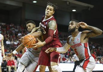 NCAA Basketball: Arkansas at Houston