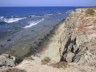 Isla de Tabarca en Santa Pola, isla del mar Mediterráneo  a unos 22 km de Alicante (Comunidad Valenciana, España)