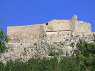 Castillo de Morella. Pueblo con encanto de Castellon (Comunidad Valenciana, España)