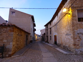 Cantavieja. Pueblo con encanto de la provincia de Teruel en la comunidad autónoma de Aragón (España)