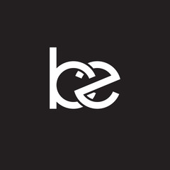 Initial lowercase letter kz, overlapping circle interlock logo, white color on black background