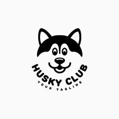 Husky club logo